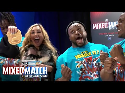 Carmella finds her WWE Mixed Match Challenge New Day partner in a box of Booty-O