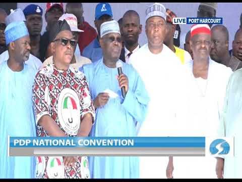 Download H.E Atiku Abubakar's Acceptance Speech at at the 2018 PDP National Convention.