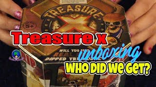 Treasure X Unboxing  Who did we get?