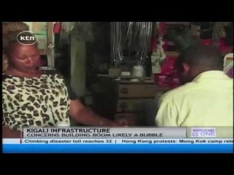 Construction of Rwanda's capital Kigali continues
