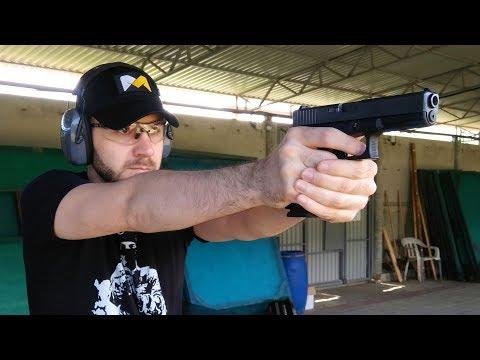 Впервые стреляю из боевого пистолета Glock 17. IPSC