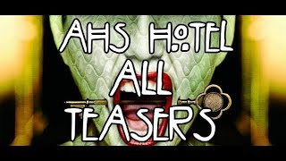 American Horror Story Hotel All Teasers | AHS LatinoAmérica