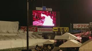 Uchiage hanabi main song sung by DAOKO at Jingu-Gaien Fireworks Fes...