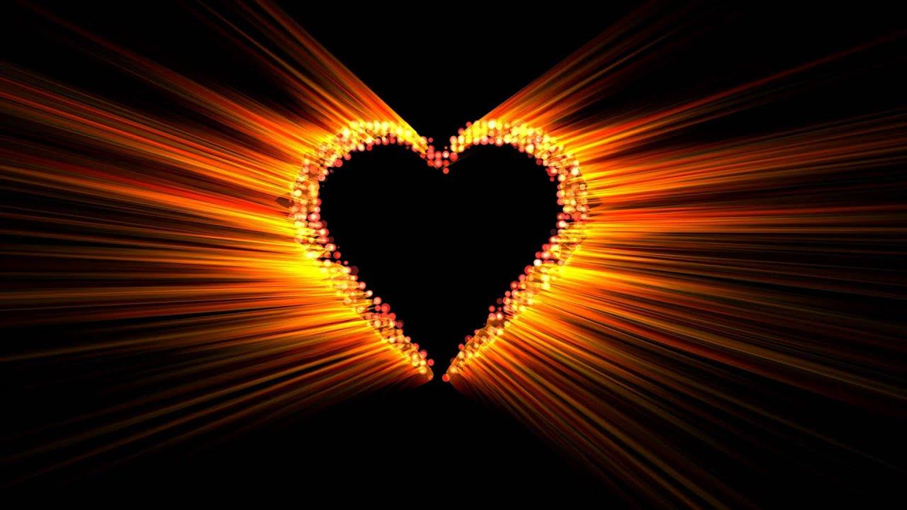 4k Animation Burning Heart Fire Effect Aa Vfx Youtube
