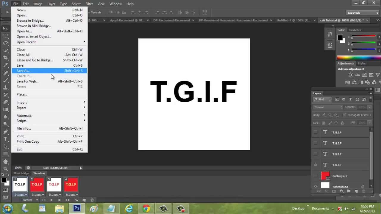 Photoshop cs6 tutorial how to create animated text gif youtube photoshop cs6 tutorial how to create animated text gif negle Gallery