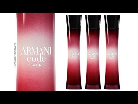 giorgio armani armani code satin perfume youtube. Black Bedroom Furniture Sets. Home Design Ideas
