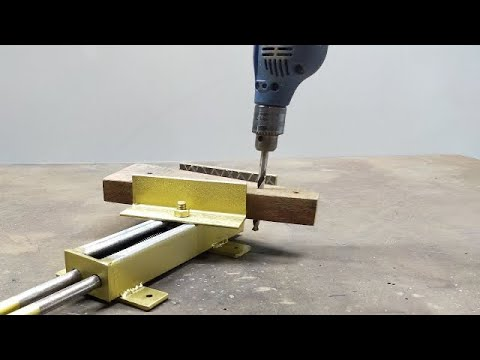 How To Make A Bench Vise   Homemade Bench Vise Without Threaded Rod