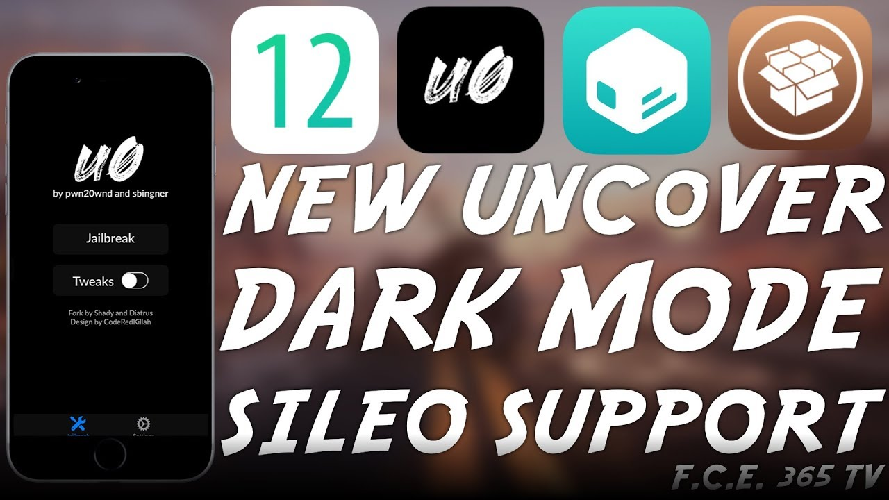 NEW Unc0ver JAILBREAK DARK MODE WITH SILEO (CYDIA ALTERNATIVE) SUPPORT  RELEASED!