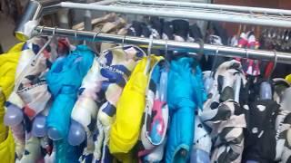 Видео Распродажа детской одежды рынок Дордой