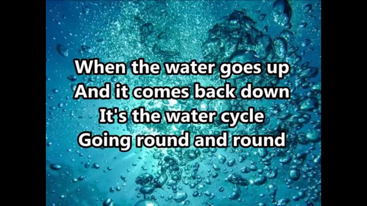 The Water Cycle Song Silly School Songs Youtube