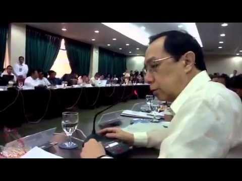 FEF President Calixto Chikiamco at the House Committee on Constitutional Amendments