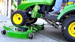How-To: Install and Remove a John Deere 60D Drive Over Mower Deck