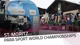 Arturs Klots leads a tight race in St. Moritz | IBSF Para Sport Official