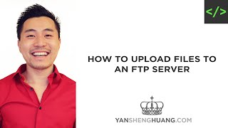 How to Upload Files to an FTP Server (Web Hosting)