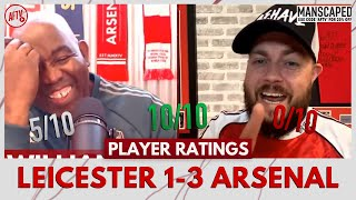 Leicester 1-3 Arsenal | Willian or Pepe For MOTM? (DT Player Ratings)