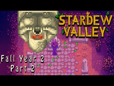 Stardew Valley 1.1 | Master Cannoli | Fall Year 2 Part 2