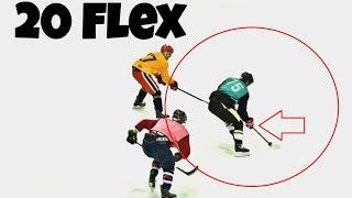 Using a 20 FLEX STICK VS. BEER LEAGUERS