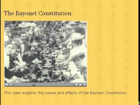 Bayonet Constitution