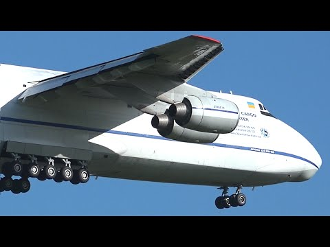 RARE ● Antonov Design Bureau AN-124 - Landing at Melbourne A
