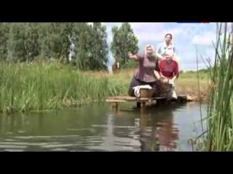 woman swims wearing long skirt