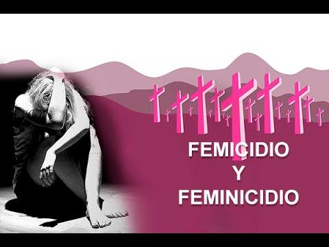 Femicidio y Feminicidio
