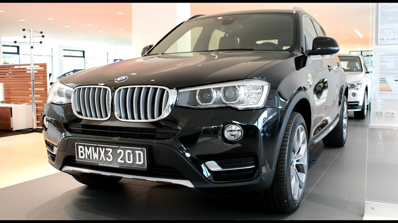 2015 New Bmw X3 Xdrive20d Youtube