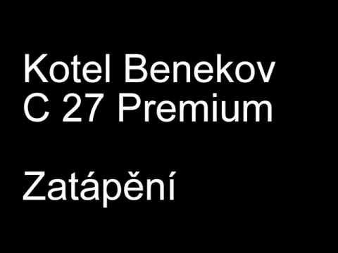 Benekov C-27 Premium -zátop v kotli