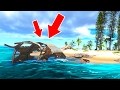 A SHIP CRASHED INTO MY ISLAND! (Stranded Deep #3)
