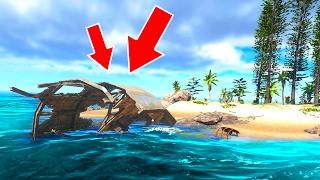 A SHIP CRASHED INTO MY ISLAND! (Stranded Deep #3)