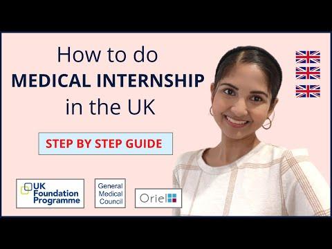 HOW TO DO MEDICAL INTERNSHIP IN UK | UK FOUNDATION PROGRAMME