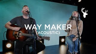 Way Maker and Cornerstone (Acoustic) - The McClure's | Moment