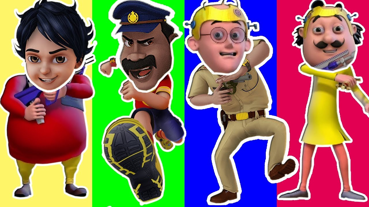 Wrong Head Funny Motu Patlu Shiva In Mission Moon Wrong Matching