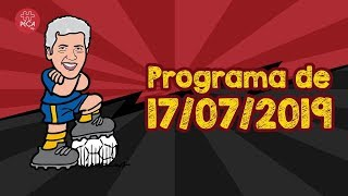Rumo às semifinais da Copa do Brasil: Programa Pop Bola 17/07/19