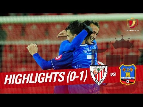 Resumen de Athletic Club vs SD Formentera (0-1)