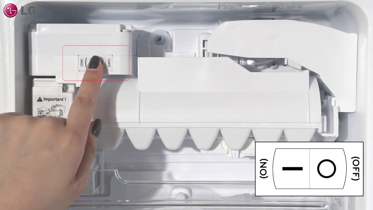 Lg French Door Refrigerator In Door Ice Maker Operation 2018