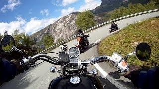 Honda Shadow 1100 Cruising Spectacular Mountain Road, Full version
