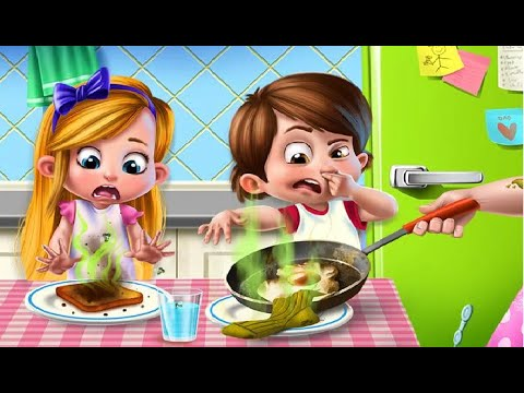 Daddy's Little Helper- Let's Help Daddy Clean Up,  Learn And Have Fun | Fun & Educational Games