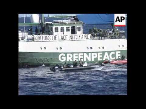 SOUTH PACIFIC: FRENCH SEIZURE OF RAINBOW WARRIOR UPDATE
