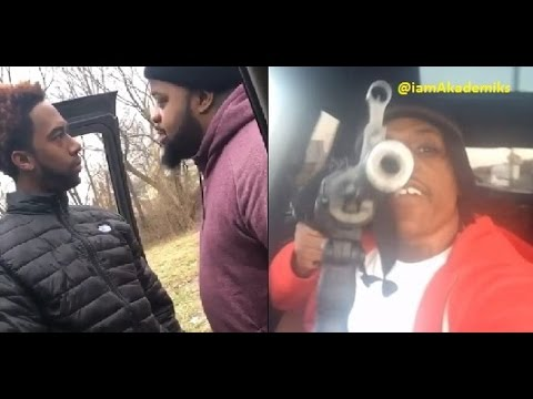 Man Who Brought Rico Recklezz to Detroit gets Confronted by Goons for Making the City Look SWEET!!