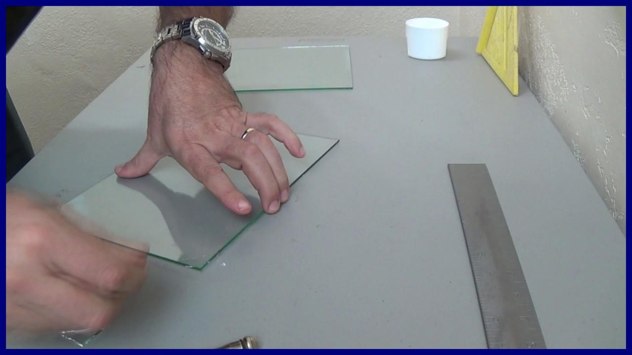 Como cortar vidrio o cristal doovi for Cortar cristal para gatera