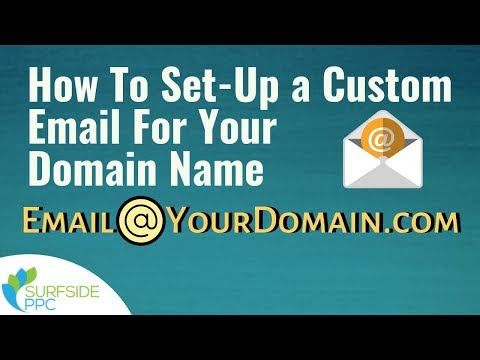 How To Set-Up A Custom Email For Your Domain Name In Gmail - Use GSuite To Create Domain Email