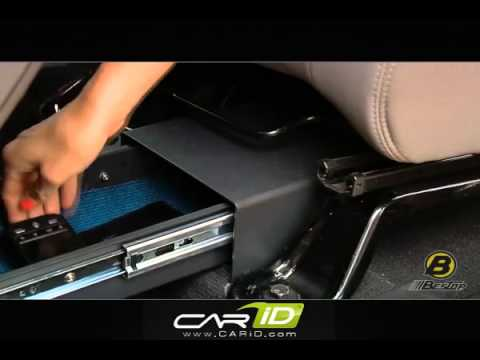 Bestop Accessories Underseat Locking Storage Boxes