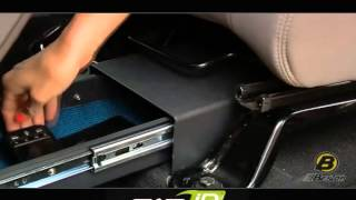 Bestop Accessories - Underseat Locking Storage Boxes Installation