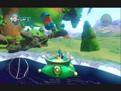 Sonic and Allstars Racing Transformed Game Breaking Glitch |