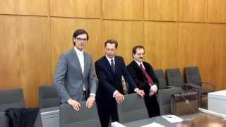 EIL:LG Essen hat entschieden.Middelhoff bleibt weiter in Haft.Video vom Tage der Urteilsverkündung