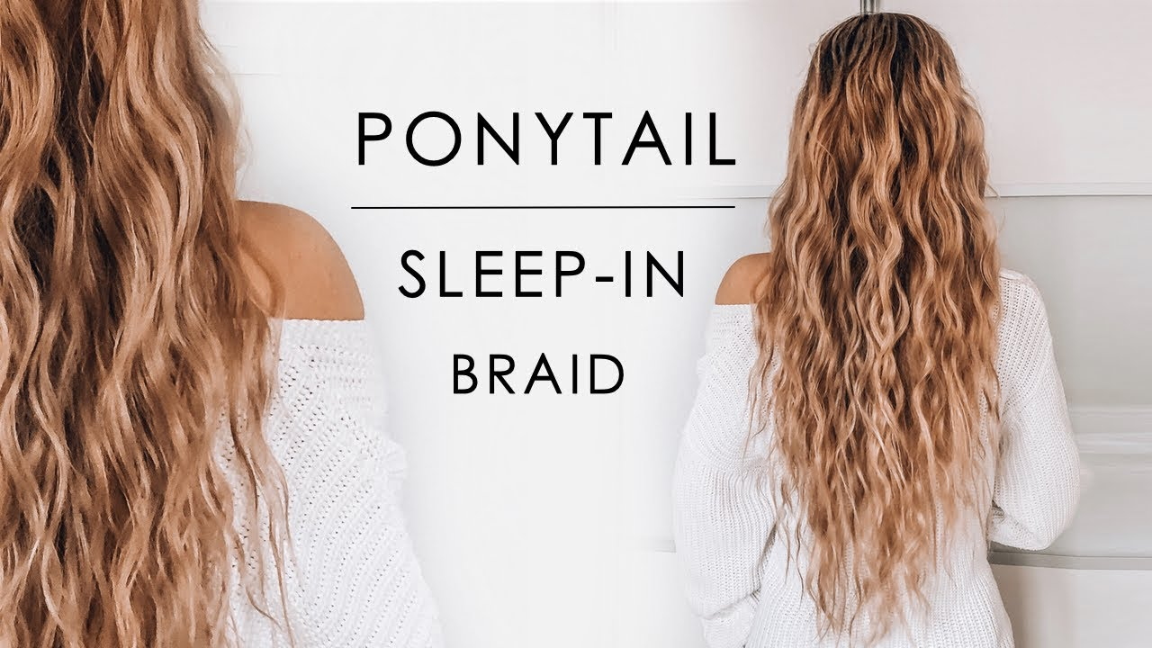 Sleep-in Ponytail Beachy Waves Hair Tutorial | Shonagh Scott