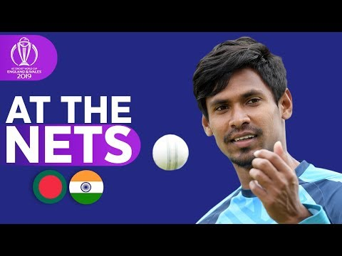 ban-v-ind---at-the-nets-|-icc-cricket-world-cup-2019