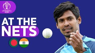 BAN V IND - At The Nets | ICC Cricket World Cup 2019