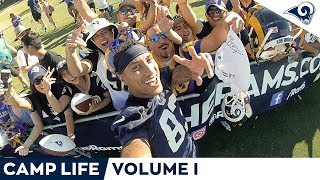 Camp Life Vol. 1 | Behind The Scenes Vlog at Rams Training Camp