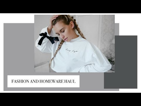 COMBINED HOMEWARE AND FASHION HAUL | TK MAXX, EVERYTHING5POUNDS & LUPSONA | Freya Farrington